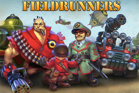 Новая версия Fieldrunners 1.3.1 - игра стиля Tower Defense